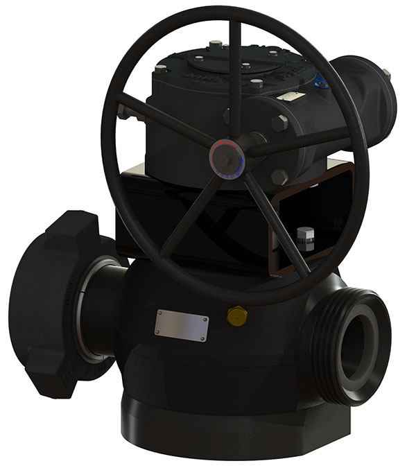 Black Armor Flow Control Valves